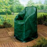 Gardman 64cm x 64cm Green Heavy Duty Stacking Chair Cover
